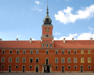 Kings Palace in Warsaw