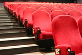 chairs in a cinema poster