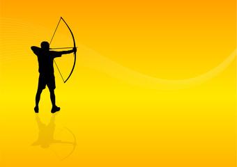 Background Archer Man