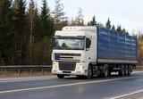 trucktor trailer truck of