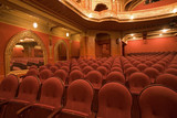 old cinema interiors poster