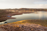 Lake Powell Recreation Area at Sunrise poster