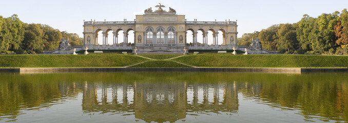 Panoramafoto Gloriette