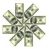 Dollars. Money concept poster