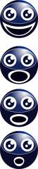 pictogramme tete bleu