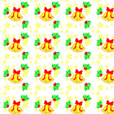 Christmas repeat pattern poster