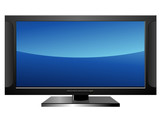 Télévision plasma poster