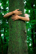 Tree hugger environmentalist
