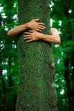 Tree hugger environmentalist