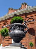 Roman style urn, Kensington Palace Garden poster