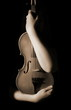 Quadro old violin