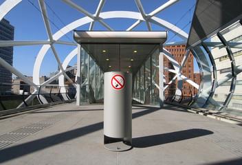 No Smoking Railway Station Platform