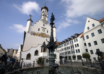 Kempten Old Town Hall Wide