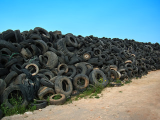 Tires Landfill