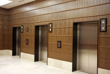 Modern elevators poster
