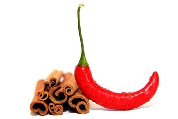 Chili und Zimt