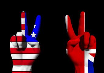 UK And USA Victory