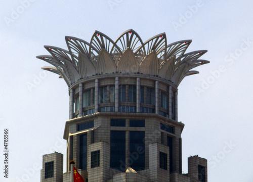 Poster Dernier étage d'une tour 1930, Shangai, Chine