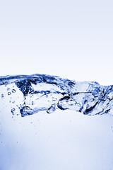 Ondas de agua fresca