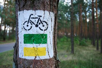 bicycle - symbol