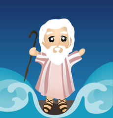 Moses Dividing the Sea