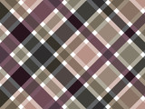 retro coffee brown plaid pattern