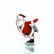 Santa Skating 1