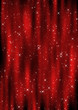 Christmas Curtain Background