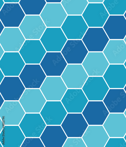 Motley tiles. Seamless vector pattern