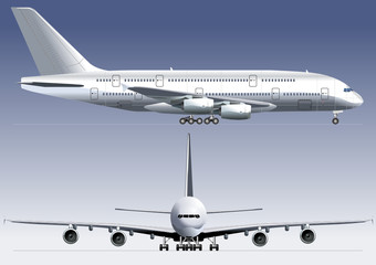 Double-deck Lagest Jetliner