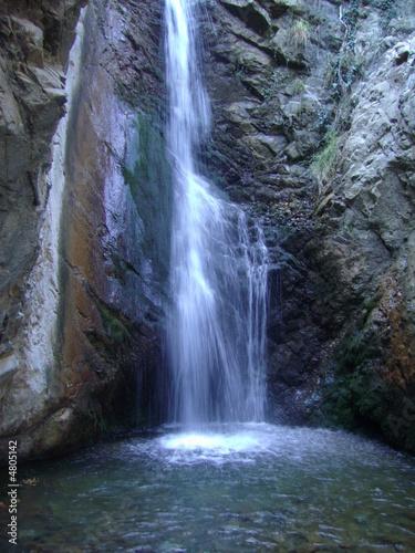 Millomeri Waterfall, Cyprus