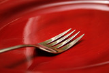 fork and plate poster