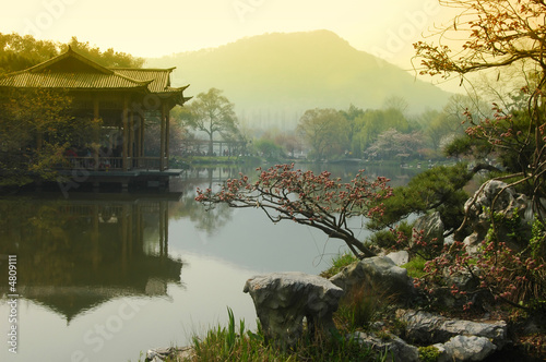 Fotobehang China West Lake, Hangzhou China