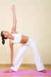 Yoga - Utthita Trikonasana