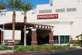 Hospital Emergency Entrance poster