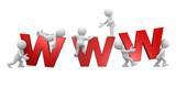 big www letters