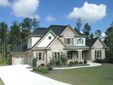 Fototapety Luxury Home Exterior 25