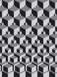 Fototapety escher inspired stacking cubes art