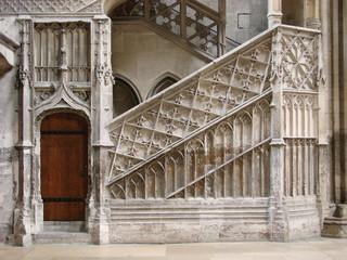 Cathedrale de Rouen - Escalier intérieur