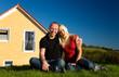 Paar und Haus