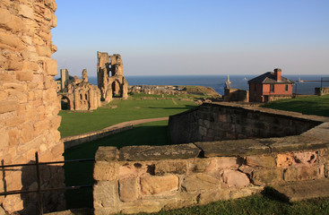 Tynemouth Prior and castle
