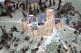 Czorsztyn castle mockup poster