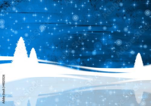 Weihnachten Hintergrund blau