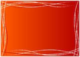 Cornice linee curve poster