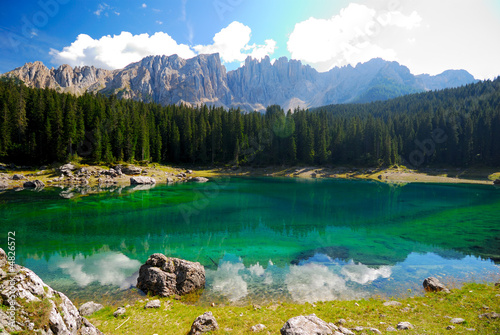 Mountain lake (Karersee)