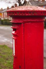 red mailbox