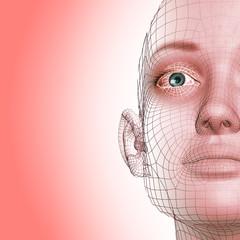Femme en 3D