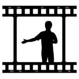 dia film praesentation poster