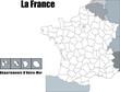 Quadro Carte de France