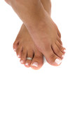 Pedicured Feet poster